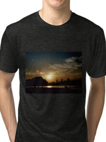 Summer Sunset Tri-blend T-Shirt