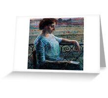The Sister at the Balcony Greeting Card
