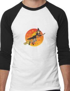 Witch&Moon Men's Baseball ¾ T-Shirt