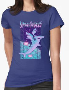 Space Sharks! Womens Fitted T-Shirt