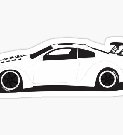 G35 Spaceship Sticker