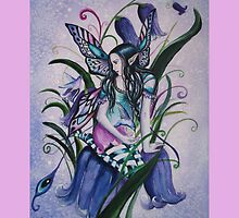 Bluebell fairy tote bag by Gabriella  Szabo