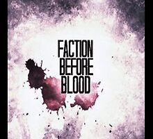 Faction Before Blood-Iphone Case by taylorhahn