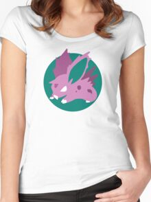 Nidoran Boy - Basic Women's Fitted Scoop T-Shirt