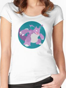 Nidoking - Basic Women's Fitted Scoop T-Shirt
