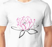Lotus sketch Unisex T-Shirt