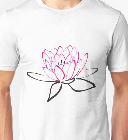 Lotus sketch Unisex T-Shirt