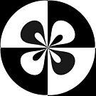 Black and White Circle by jean-louis bouzou