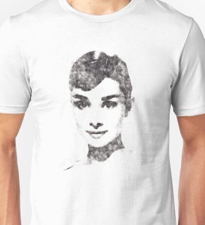 Audrey Hepburn portrait 02 Unisex T-Shirt