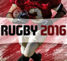 Rugby 2016 Poster Sticker