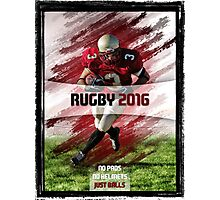 Rugby 2016 Poster Photographic Print