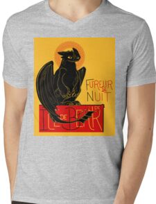 Fureur de Nuit Mens V-Neck T-Shirt