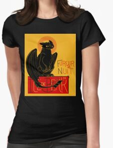 Fureur de Nuit Womens Fitted T-Shirt