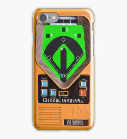 Classic Baseball Game iPhone Case/Skin