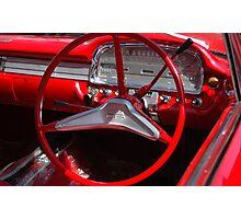 Vintage Cars: Vinsin Fotograf Photographic Print