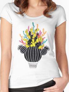 In my cactus Women's Fitted Scoop T-Shirt