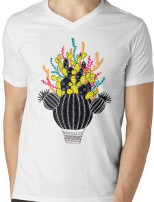 In my cactus Mens V-Neck T-Shirt