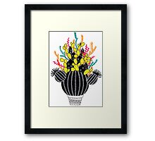 In my cactus Framed Print
