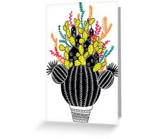 In my cactus Greeting Card
