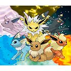 Eeveelution by warriorhel3