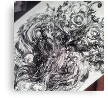 Weird and Unusual Owl Canvas Print
