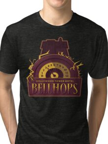 Hollywood Hills Hotel Bellhops Tri-blend T-Shirt