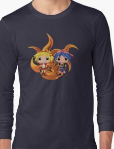 Kid & Serge with Frozen Flame Long Sleeve T-Shirt