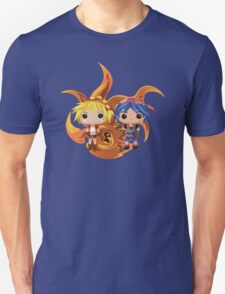 Kid & Serge with Frozen Flame Unisex T-Shirt