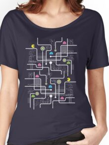 Return Of The Retro Video Games Circuit Board Women's Relaxed Fit T-Shirt