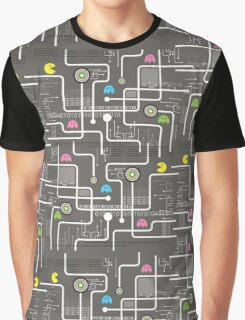 Return Of The Retro Video Games Circuit Board Graphic T-Shirt
