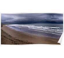 Inch Beach, Co Kerry Ireland Poster