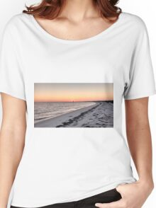 Shell Key Preserve Sunset Women's Relaxed Fit T-Shirt
