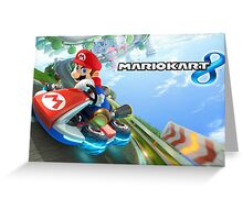 Mario Kart Greeting Card