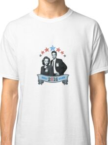 Mulder & Scully For President 2016 Classic T-Shirt