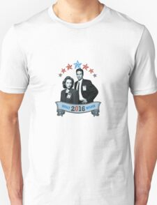 Mulder & Scully For President 2016 Unisex T-Shirt