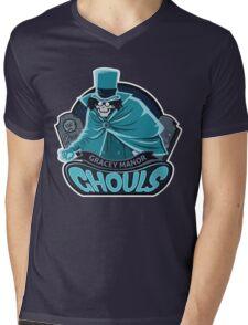 Gracey Manor Ghouls Mens V-Neck T-Shirt