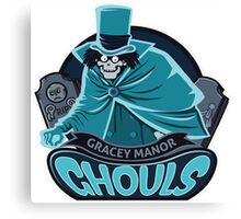 Gracey Manor Ghouls Canvas Print