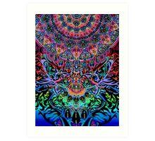 Mandala Energy Art Print