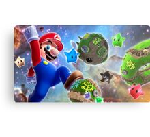 Super Mario Star Metal Print