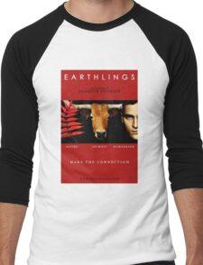 """""""Earthlings"""" Movie Cover Men's Baseball ¾ T-Shirt"""