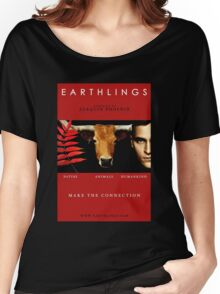 """Earthlings"" Movie Cover Women's Relaxed Fit T-Shirt"