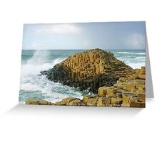 Giant's Causeway Ireland Greeting Card