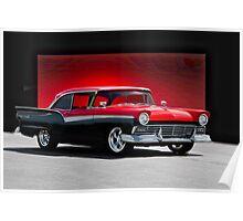 1957 Ford Fairlane 500 Hardtop Poster