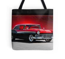 1957 Ford Fairlane 500 Hardtop Tote Bag
