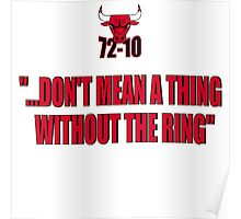 72-10 DON'T MEAN A THING WITHOUT THE RING Poster