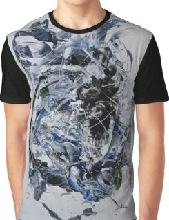 Back to the Future - Original mixed media Abstract painting Graphic T-Shirt