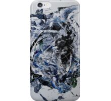 Back to the Future - Original mixed media Abstract painting iPhone Case/Skin