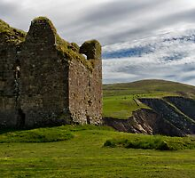 Minard Castle Dingle Peninsula by woodnimages