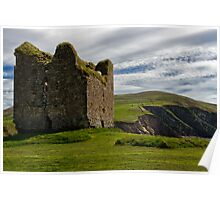 Minard Castle Dingle Peninsula Poster