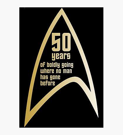 Star Trek 50th Anniversary Photographic Print